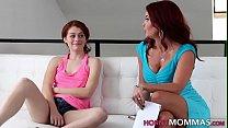 Redheaded Lesbian Stepmom